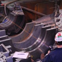 Turbine Topless Laser Alignment - Steam Turbine Services