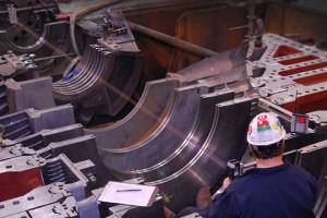 Turbine Topless Laser Alignment - Steam Turbine Services