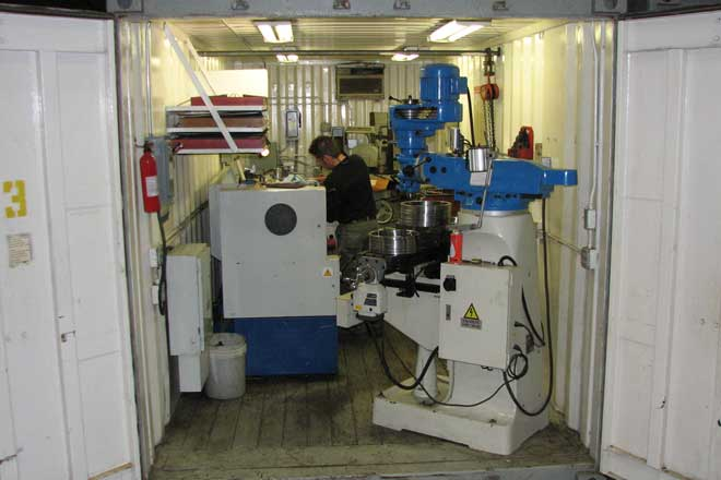 Portable Machine Shops Mda Turbines