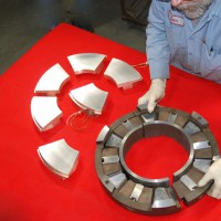 Tilt Pad Thrust Bearing | Turbine Bearing Repairs