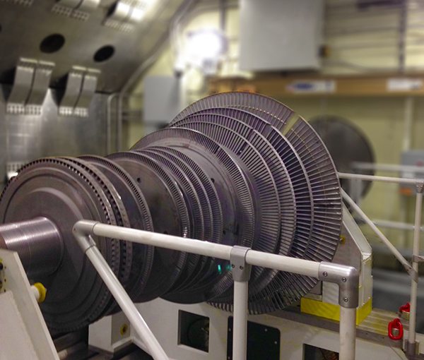 High Speed Balance Steam Turbine Rotor