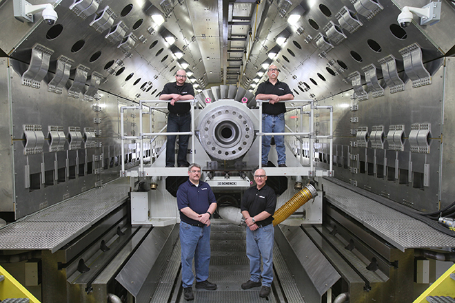 High-Speed Balance Facility Experts