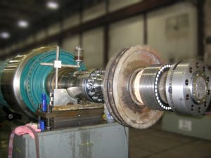 Generator Rotor Stub Shaft Repair
