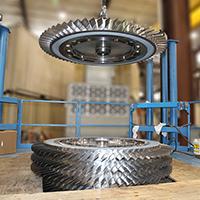 Gas Turbine Rotor Repair