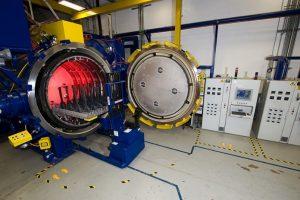 vacuum heat treat furnace, gas turbine parts lifetime extension