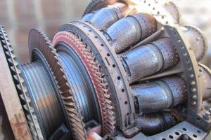 Frame 7FA compressor blade replacement - gas turbine repairs