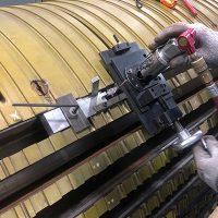 Performing Rotor Slot Dovetail Repair