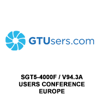 GT Users V94.3A Conference Europe