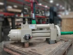 Figure 2. Refurbished Actuator